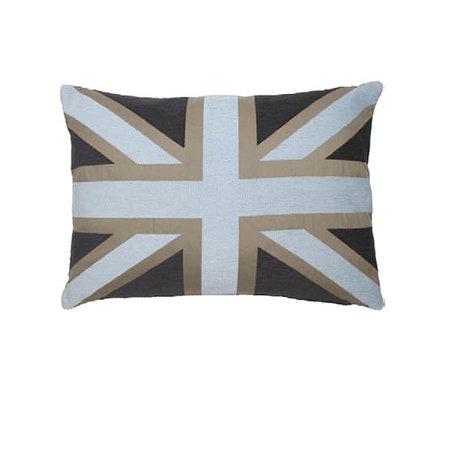- Union Jack - Kussen - Brown