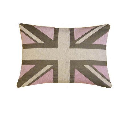 - Union Jack - Kussen - Pink