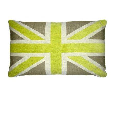 - Union Jack - Kussen - Green
