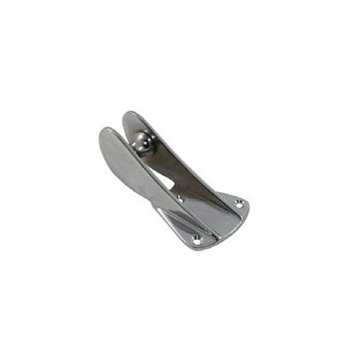 - Boegrol - Anker - Lengte 140 mm - Breedte 23mm - Verchroomd Koper