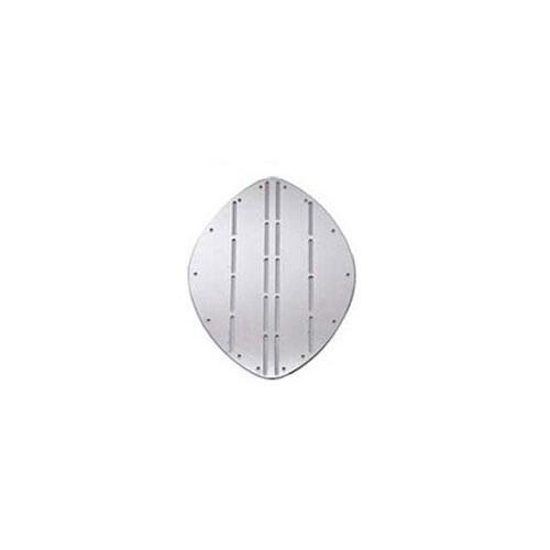 - Boeg Schild - B 345 mm - H 265 mm- Roestvrij Staal