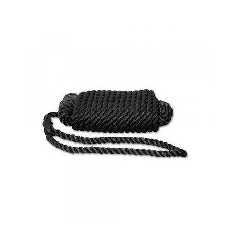 Landvasten - 3 stringen - polyester - zwart