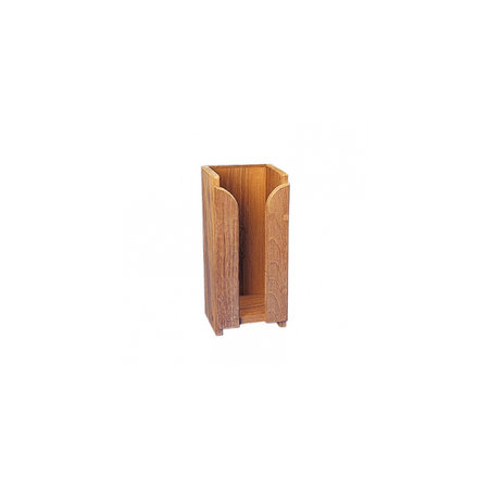 - Kopjesrek 1 stapel - 11,5 x 25,5 x 11 cm - Teak