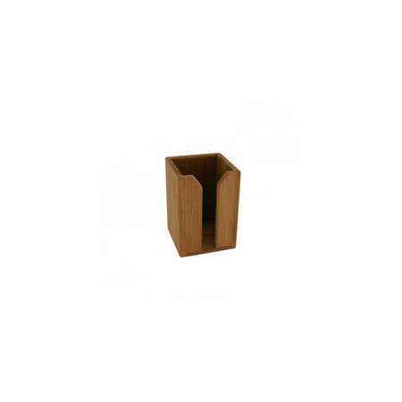 - Flessenhouder - enkel - 10 x 9,5 x 14 cm - Teak