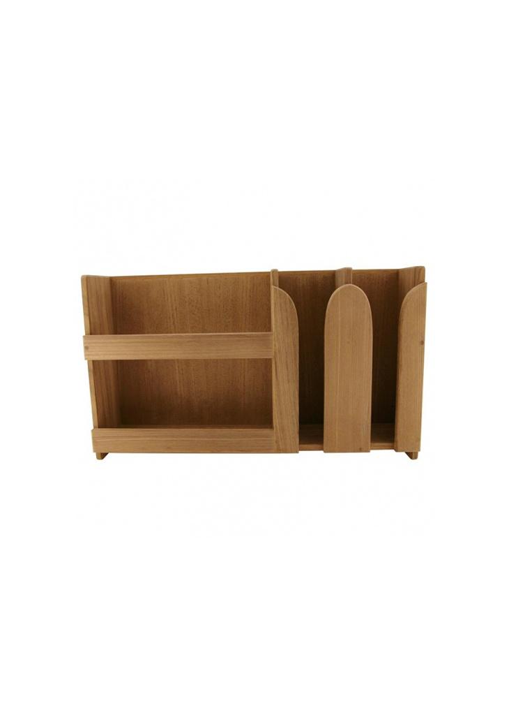 - Borden & kopjesrek - 50 x 11 x 29 cm - Teak