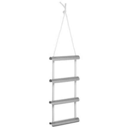 Aluminium boarding ladder - 4 treden