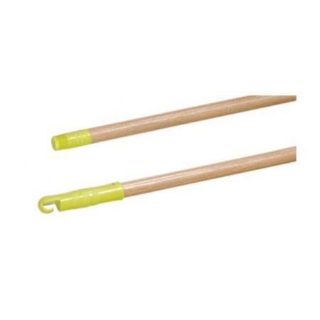 bezemsteel gelakt hout - 130cm