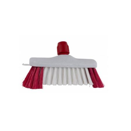 luiwagen polyamidde wit met rode baard
