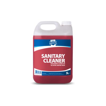 sanitair reiniger met frisse geur - 5 liter