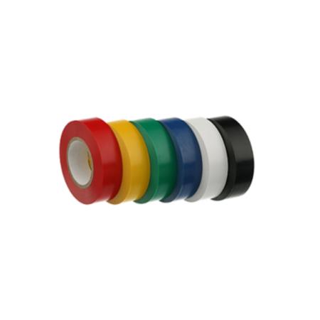 nitto plastic tape - 19mm x 20m - Zwart