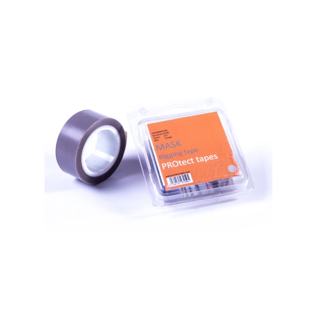 anti-chafe tape - 51mm x 16.5m - Zwart - 0.500 dikte