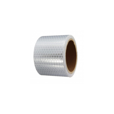 reflecterend tape Solas - 50mm x 1m - Zilver