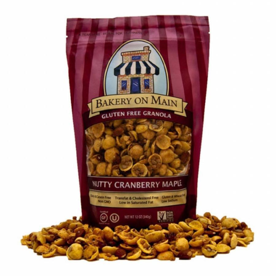 Nutty Cranberry Muesli