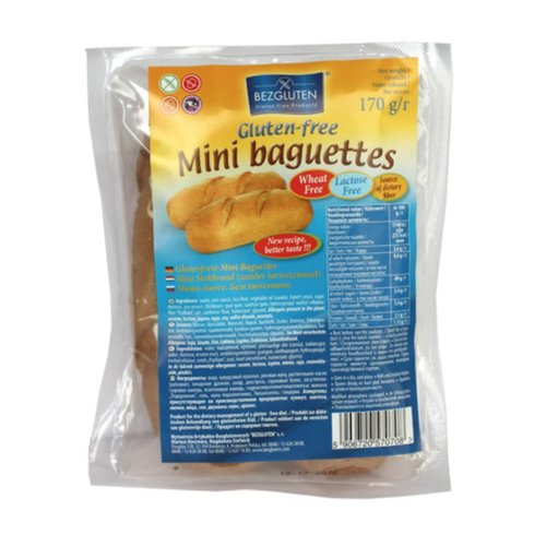 Bezgluten Mini Baguette's 2 Stuks