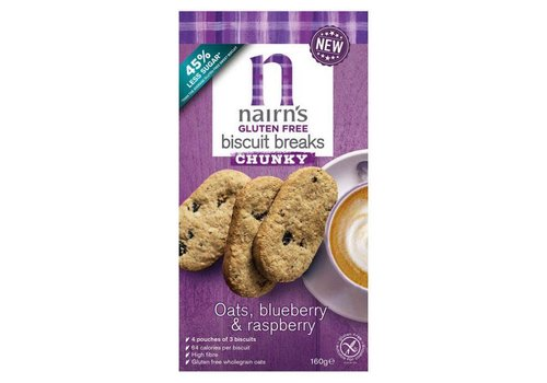 Nairns Biscuit Breaks Oats, Blueberry & Raspberry