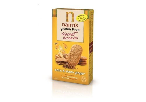 Nairns Biscuits Breaks Oat & Stem Ginger