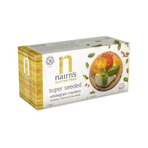 Nairns Super Seeded Wholegrain Crackers