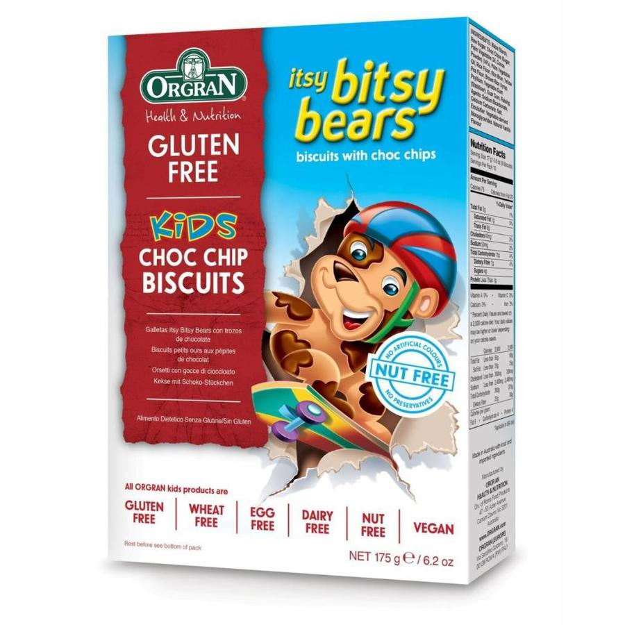 Itsy Bitsy Bears Choc Chip Biscuits