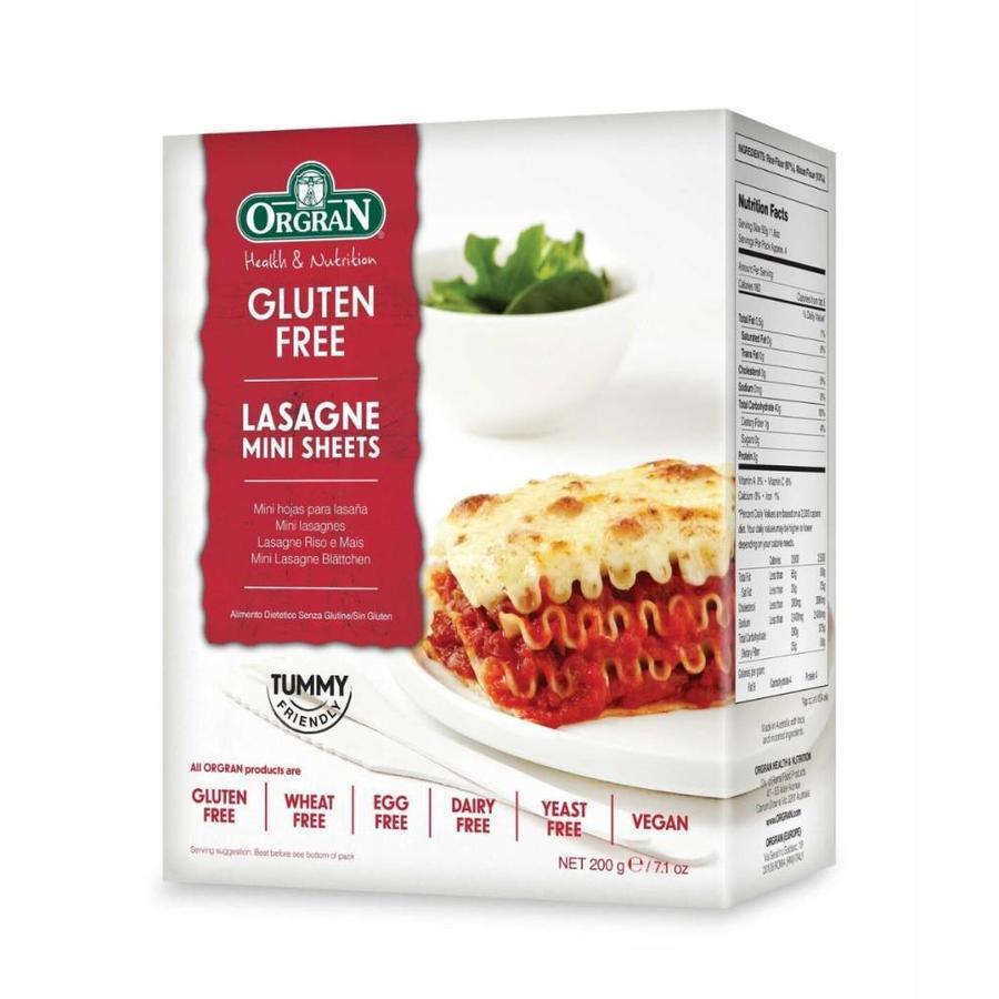 Mini Lasagnebladen
