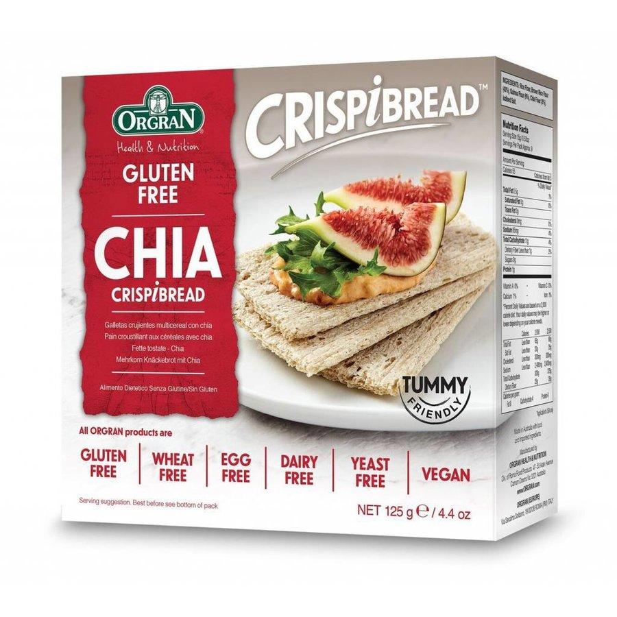 Chia Crispibread