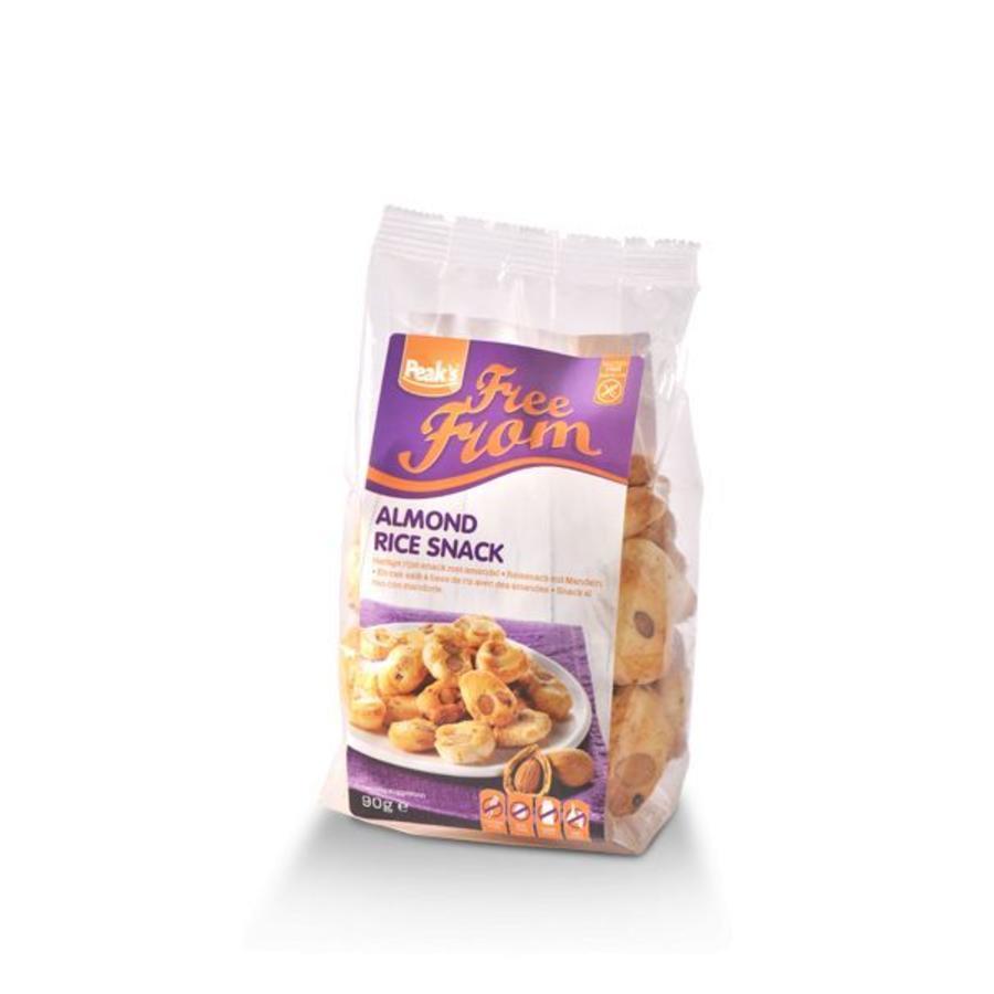 Hartige Rijst-Snack met Amandel