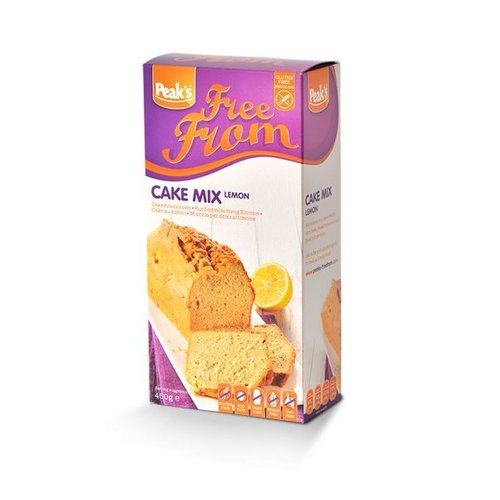 Peak's Free From Cakemix Citroen