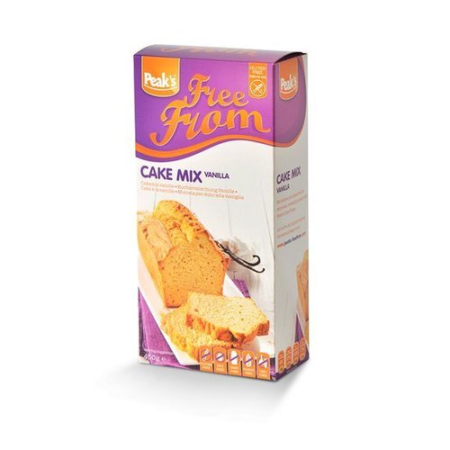 Peak's Free From Cakemix Vanille