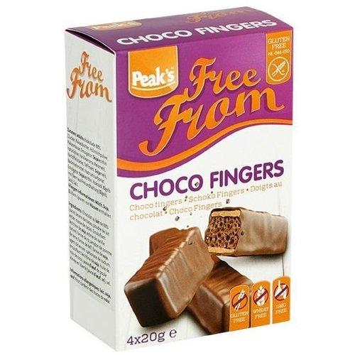 Peak's Free From Choco Fingers