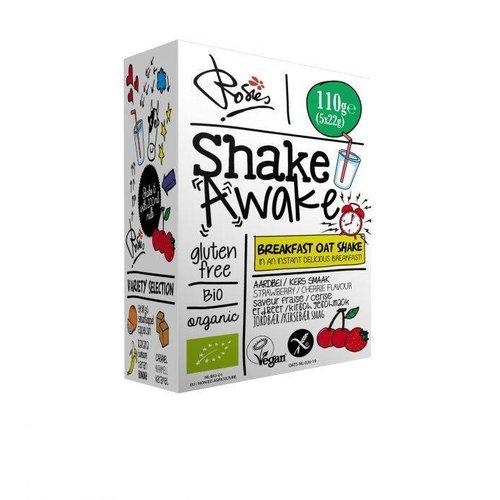 Rosies Shake Awake Aardbei Kers Biologisch