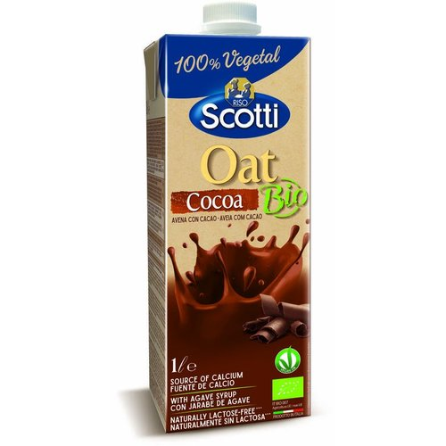 Riso Scotti Haverdrink Cocoa Biologisch (niet glutenvrij)