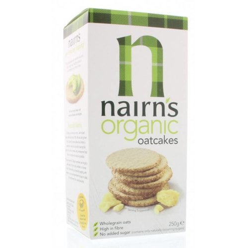 Nairns Organic Oatcakes (niet glutenvrij)