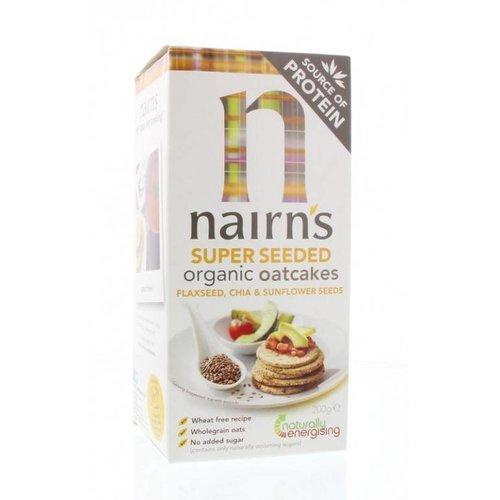 Nairns Superseeded Organic Oatcakes (niet glutenvrij)