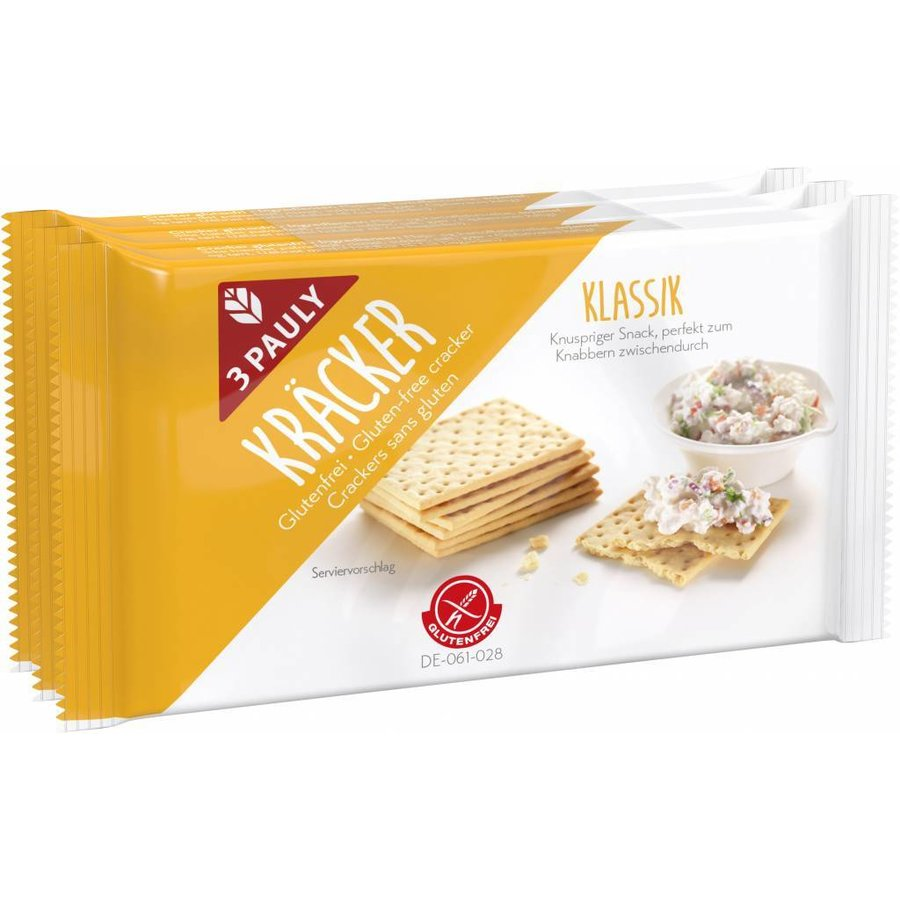 Crackers 3-pack