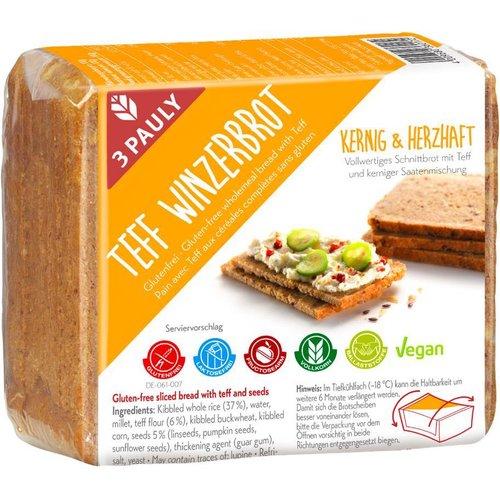 3Pauly Landbrood met Teff