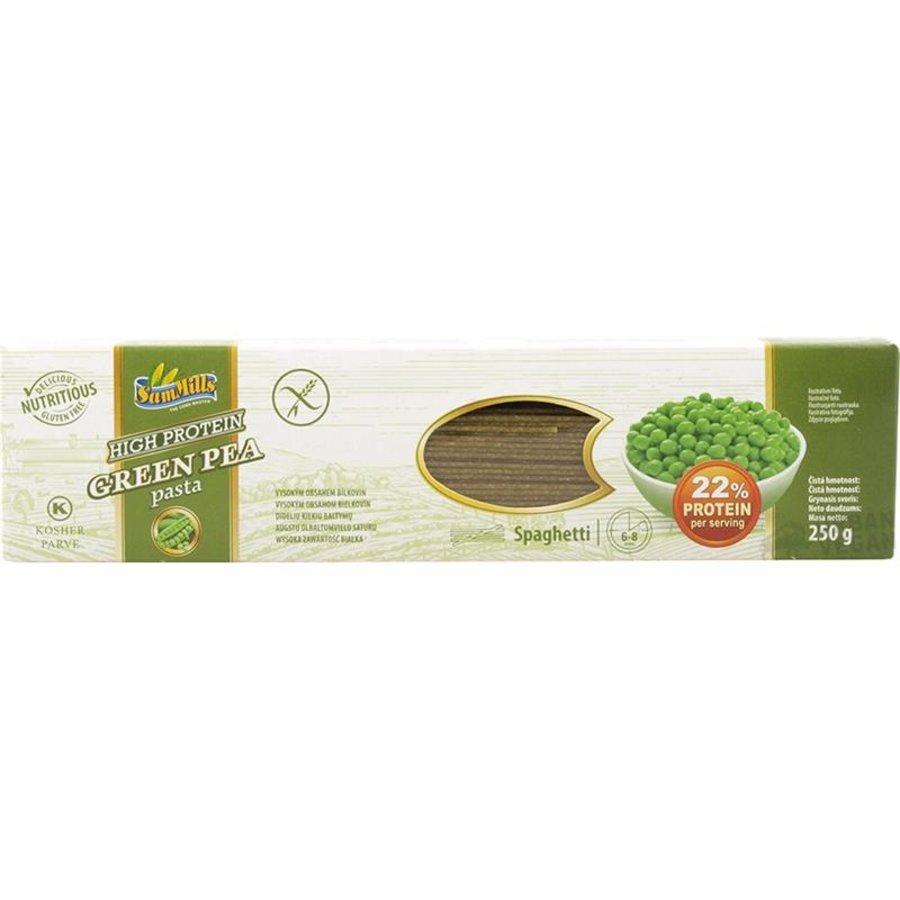 Groene Erwten Pasta Spaghetti