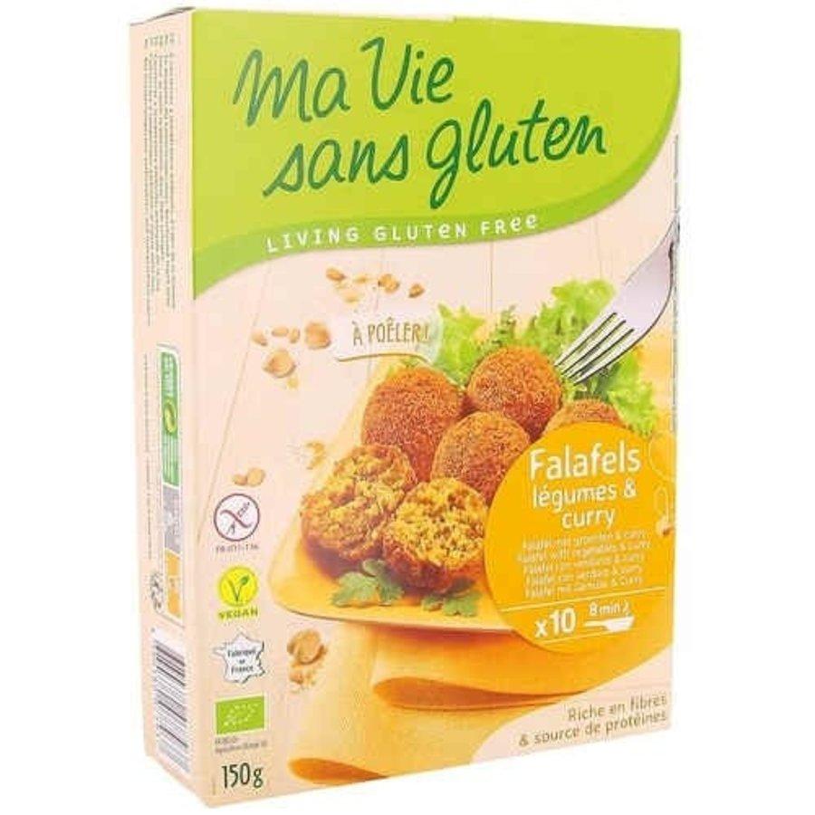 Falafel met Groenten & Curry Biologisch