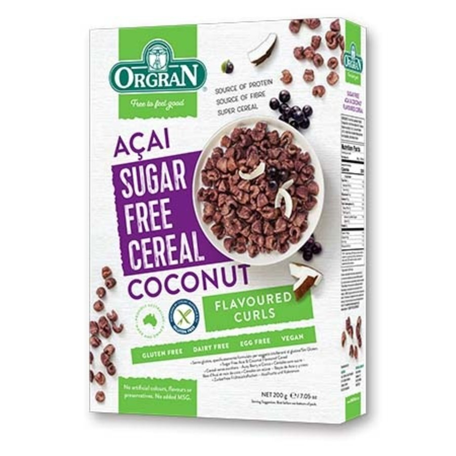 Sugar Free Cereal Acai-Coconut