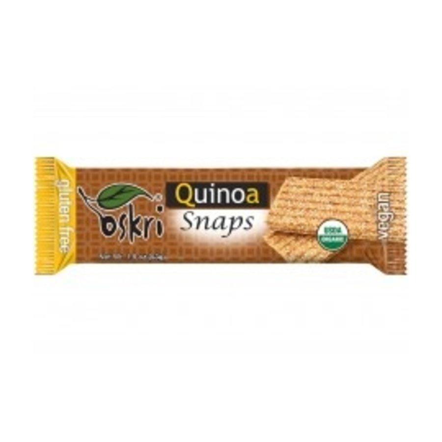 Quinoa Snaps