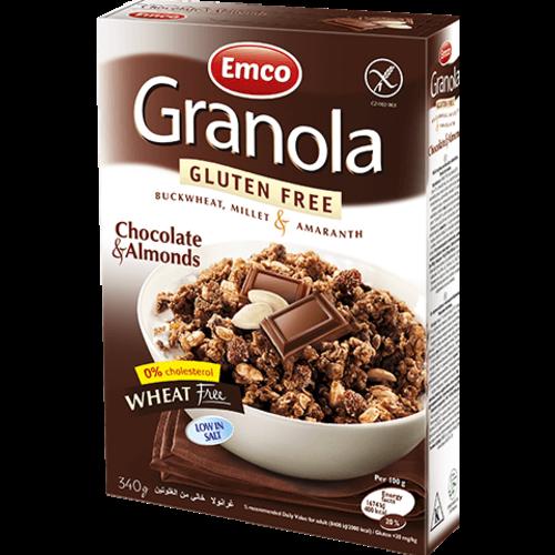 Emco Muesli met Chocolade en Amandelen