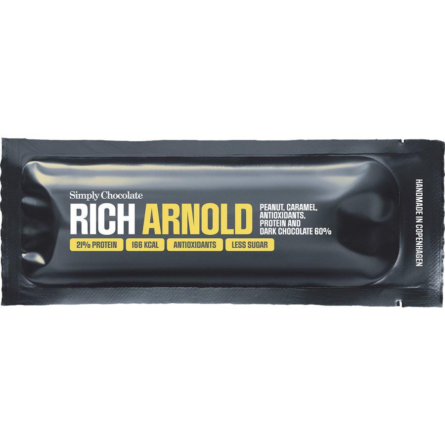 Rich Arnold met Pindakaas en Dark Chocolade
