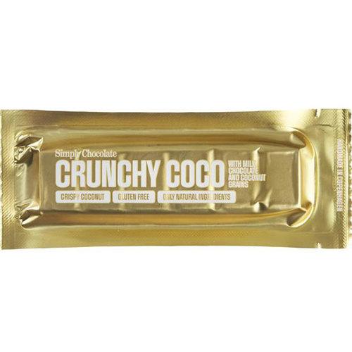 Simply Chocolate Crunchy Coco Melk Kokos