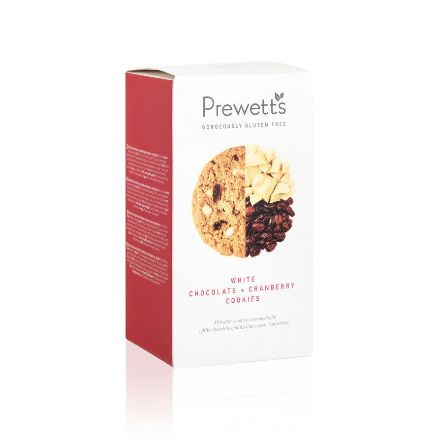 Premium White Chocolate Cranberry Cookies