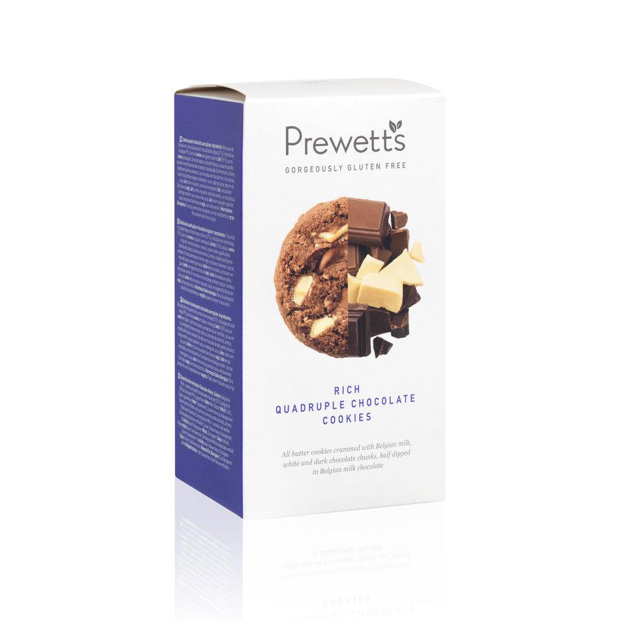 Premium Rich Quadruple Chocolate  Cookies