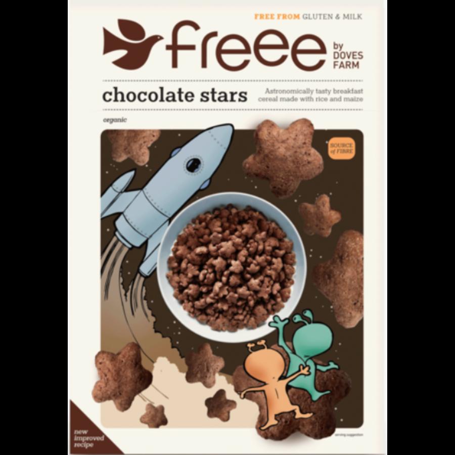 Chocolade Sterren Biologisch