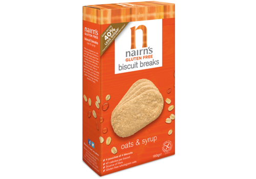 Nairns Biscuit Breaks Oats & Syrup