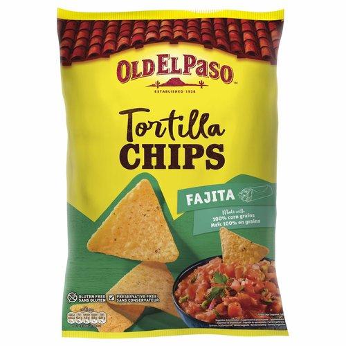Old El Paso Tortilla Chips Fajita