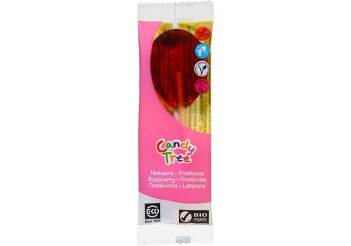 Candy Tree Frambozenlolly Biologisch