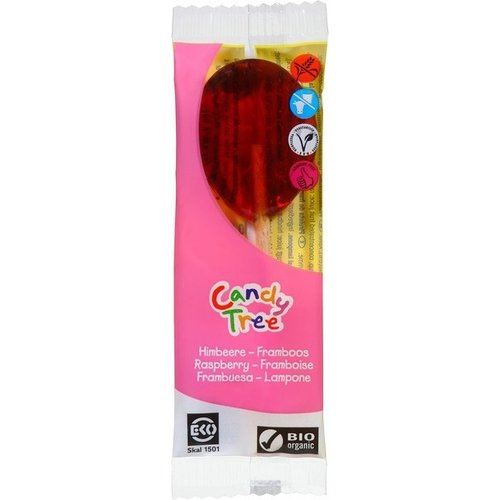 Candy Tree Frambozenlolly Biologisch