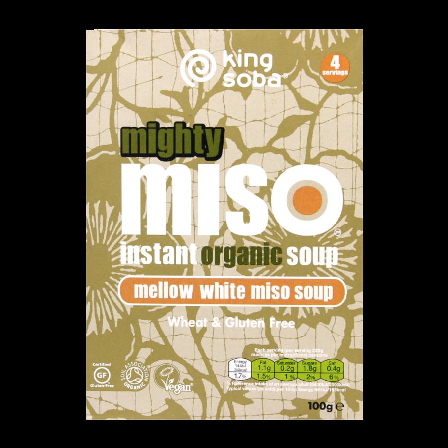 Instant Miso Soep Witte Misopasta Biologisch