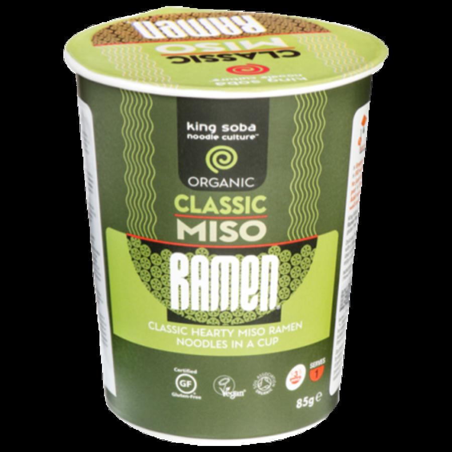 Classic Miso Ramen Noedelsoep Biologisch